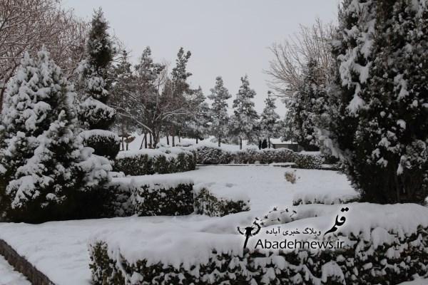 برف ۹۲ آباده